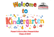Welcome to KDG slide with Chardon Hilltoppers logo
