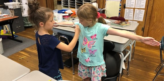 working together to take measurements
