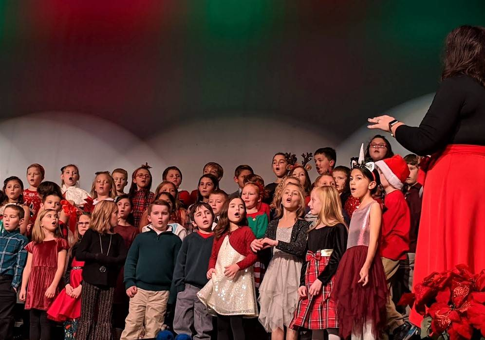 Munson Elementary Holiday Singing Concert - 2019