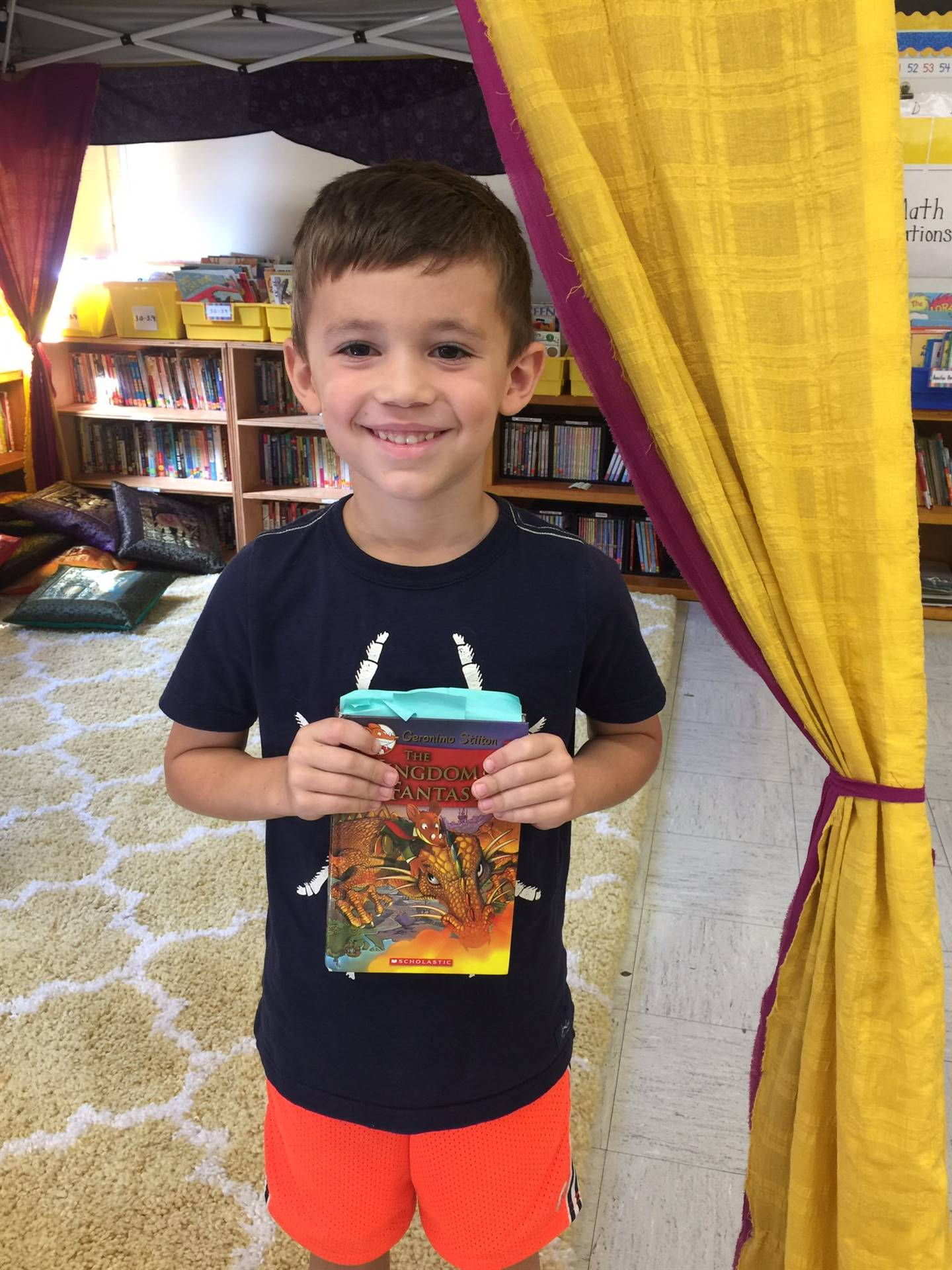 Munson Elementary 2nd Grade Student - Book Chat