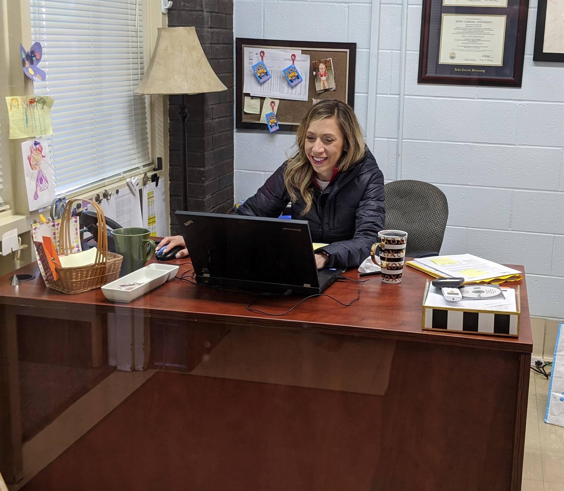 District Curriculum Supervisor Dr. Kelly Moran
