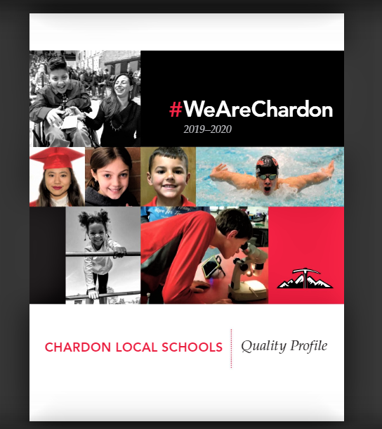 Click Image to Open File:  Image is Front Cover of 2019-20 Quality Profile - Student Photos