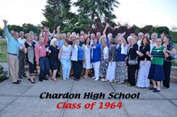 Chardon High School Class of 1964 - reunion photo
